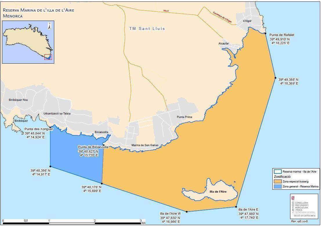 Réserve marine de Minorque l Isla del Aire @ Salgar Diving