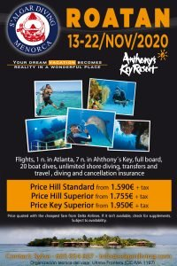 Annual Dive Holiday with Salgar Diving. This time to Roatan