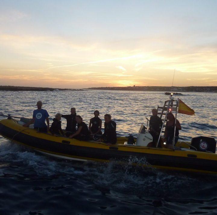 Night Dive | Salgar Diving Menorca