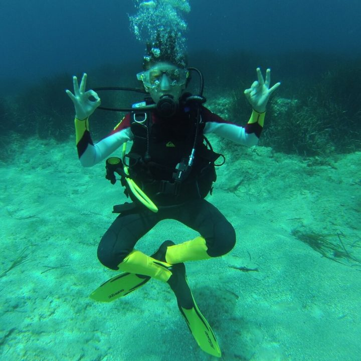 PADI Discover Scuba Diving DSD or Try-Dive, Menorca