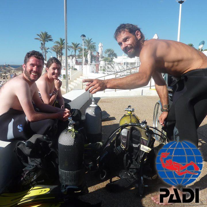 PADI Scuba Diver Course | S'Algar Diving, Menorca