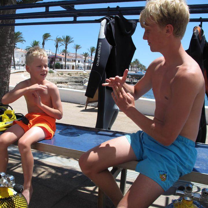 Pool Refresher | S'Algar Diving, Menorca